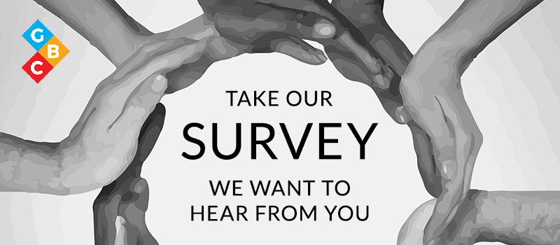 Slide background for Survey. Click to go to survey.